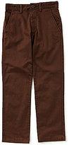 Class Club Big Boys 8-20 Flat-Front Twill Pants