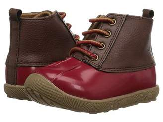 Baby Deer First Steps Duck Boot (Infant/Toddler) (Red 1) Girl's Shoes