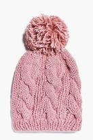 Boohoo Olivia Supersoft Bobble Hat