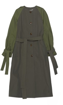 Loewe Raglan Sleeve Trench Coat