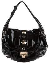 Jimmy Choo Patent Leather Ramona Shoulder Bag
