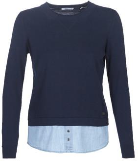 Esprit 099CC1I008-403 women's Sweater in Blue