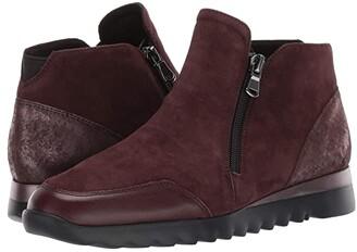 Munro American Danika (Wine Suede Combo) Women's Boots
