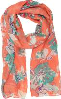 Sakkas CQSXS-4 - Nichole summer gauze featherweight patterned versitile sheer scarf wrap -OS