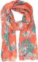 Sakkas CQSXS-7 - Nichole summer gauze featherweight patterned versitile sheer scarf wrap - OS