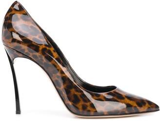 Casadei Leopard Print Pumps
