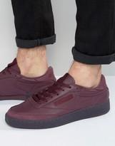 Reebok Club C Leather 'Jam' Sneakers In Red BD2530