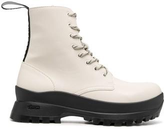 Stella McCartney Chunky Rubber Sole Boots