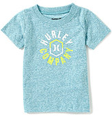 Hurley Little Boys 12-24 Months Walled Art Tee