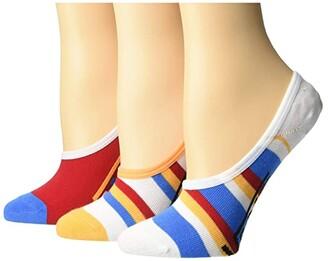 Vans Long Ways Canoodles 3-Pack (Multi) Women's Crew Cut Socks Shoes