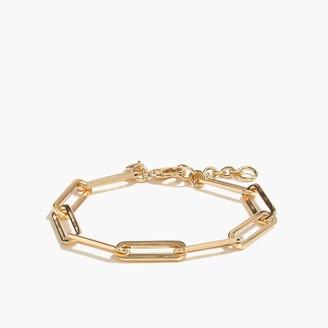 J.Crew Paper-clip link bracelet