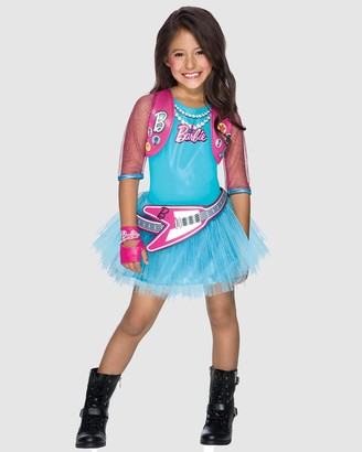 Rubie's Deerfield - Girl's Pink Costumes - Barbie Popstar Costume - Kids - Size 3-4YRS at The Iconic