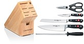 Wusthof Classic 6 Piece Knife Block Set - 100% Exclusive