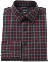 Apt. 9 Men's Extra-Slim Fit Gingham-Checked Stretch Dress Shirt