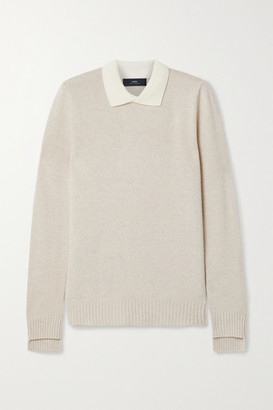 Arch4 - Olive Cashmere Sweater - Sand