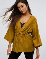 Gestuz Janet Silk Kimono Blouse