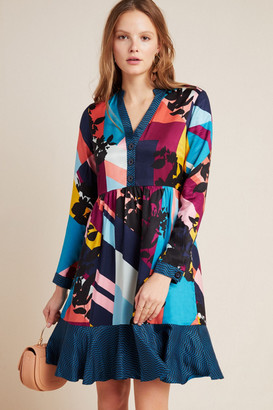 Maeve Gillian Abstract Shirtdress
