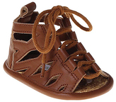 Laura Ashley Brown Lace-Up Sandal
