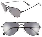 Raen Men's 'Roye' 58Mm Polarized Sunglasses - Black Ripple/ Black