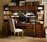 Pottery Barn Printer's Large Hutch with Doors
