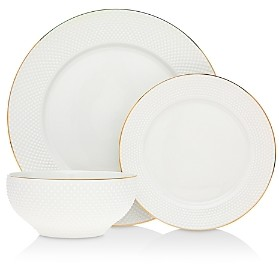 Godinger Pique 18-Piece Dinnerware Set - 100% Exclusive