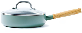 Green Pan Mayflower Saute Pan with Lid - 24cm