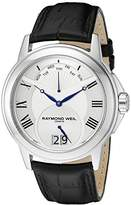 Raymond Weil Men's 9577-STC-00650 Tradition Stainless Steel Case Black Leather Strap with Crocodile Pattern Watch