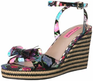 Betsey Johnson Women's Elektra Wedge Sandal
