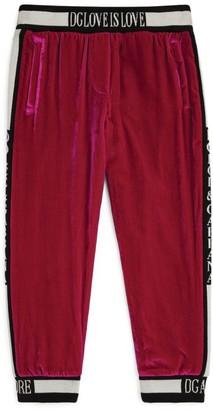 Dolce & Gabbana Kids Logo Sweatpants (2-6 Years)