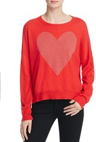 Sundry Heart Studs Crewneck Sweater