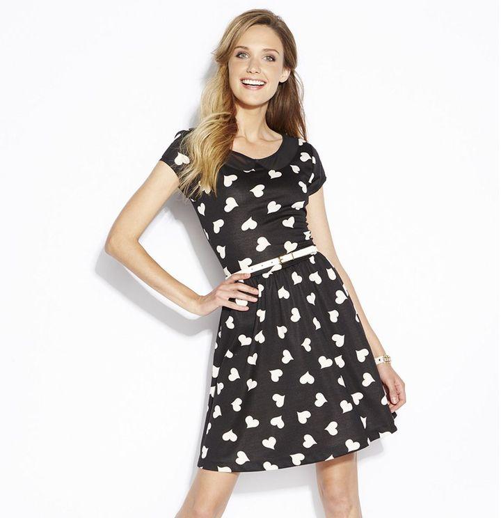 Lauren Conrad heart ponte dress