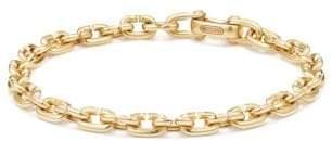 David Yurman Chain Link Narrow Bracelet In 18K Gold