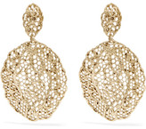 Aurelie Bidermann Dentelle Gold-plated Earrings - one size