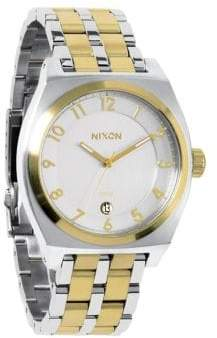 Nixon Monopoly Two-Tone Stainless Steel Watch