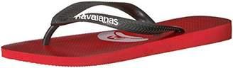Havaianas Men's Mario Bros Flip Flop Sandal 11/12 M US