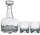 Orrefors Erik 3-Piece Whiskey Decanter Set