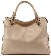 PASTE Women's Genuine Leather Hobo Tote purse satchel Handbag/Shoulder Strap
