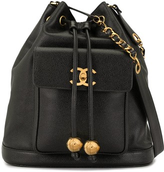 Chanel Pre-Owned CC bucket bag