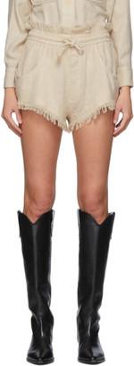 Isabel Marant Off-White Talapiz Shorts