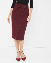 White House Black Market High-Waist Pencil Skirt