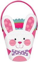 Amscan Pink Bunny Basket - Felt