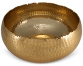 Thirstystone Old Hollywood Medium Hammered Gold-Tone Bowl