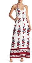 Romeo & Juliet Couture Floral T-Back Maxi Dress