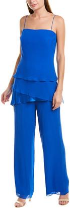 Issue New York 2Pc Silk Jumpsuit