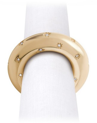 L'OBJET Stars 4-Piece Napkin Ring Set