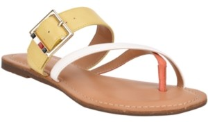 Tommy Hilfiger Lahyla Toe-Loop Sandals, Created for Macy's Women's Shoes