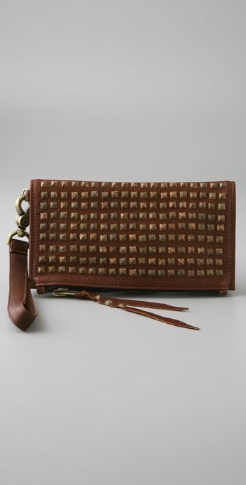 Castle Starr Kettle Black New Clutch with Rust Studs