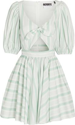 Rotate by Birger Christensen Marie Puff Sleeve Mini Dress