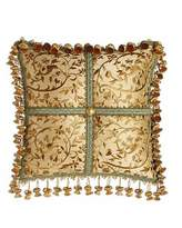 "Sweet Dreams Palazzo Como Embroidered Silk Pillow, 14""Sq."
