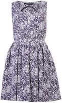 Timo Weiland Georgina sleeveless capelet dress